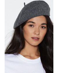 Nasty Gal - Off The Top Of Your Head Beret - Lyst