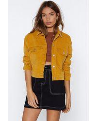 Nasty Gal - My Sharona Cropped Jacket - Lyst
