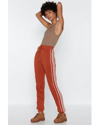 Nasty Gal - These Are Four You Joggers - Lyst