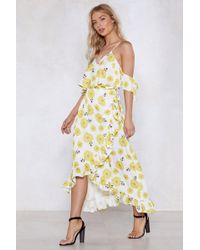 "Nasty Gal - ""grow With The Flow Floral Dress"" - Lyst"