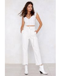 Nasty Gal - Come Clean High-waisted Jeans - Lyst