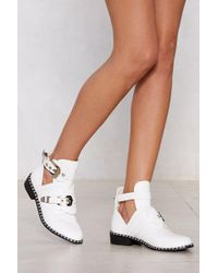 """Nasty Gal - """"take The Lead Bootie"""" - Lyst"""