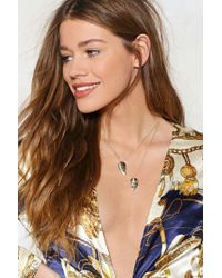 Nasty Gal - You're My Best Friend 2-pc Necklace Set - Lyst