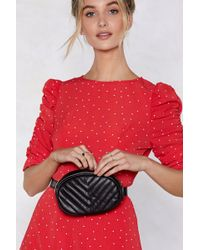 Nasty Gal - Want We Quilt This City Belt Bag - Lyst