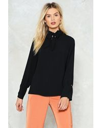 Nasty Gal - Pussybow Blouse Pussybow Blouse - Lyst