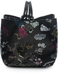 Natori - Josie Dragon Jacquard Small Bag - Lyst