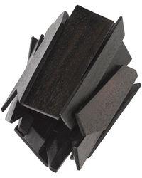 Natori - Josie Acacia Wood Geometric Bracelet - Lyst
