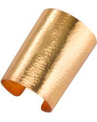 Natori   Hammered Gold Cuff   Lyst