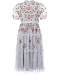 Needle & Thread - Carnation Sequin Dress - Lyst