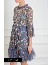 Needle & Thread - Dragonfly Garden Midi Dress - Lyst