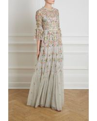 Needle & Thread - Dragonfly Garden Maxi Dress - Lyst