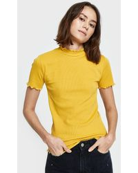Which We Want - Gwen Tee In Mustard - Lyst