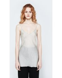 Organic By John Patrick - Bias Camisole In Dune - Lyst