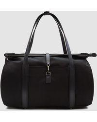 Mismo - M/s Adventurer Weekend Bag In Black/black - Lyst
