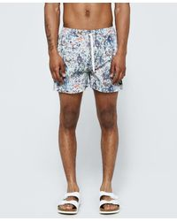 Insted We Smile - Colorful War Swim Short In Multi - Lyst