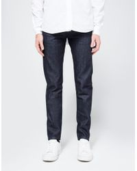 Naked & Famous - Super Skinny Guy Indigo Selvedge - Lyst