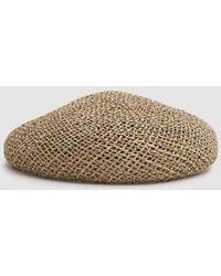 d816aacbf15 Creatures Of Comfort Cartwheel Hat in Black - Lyst
