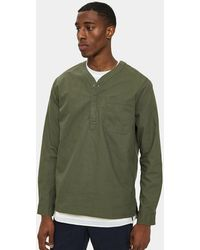 Native Youth - Sequoia Shirt In Green - Lyst