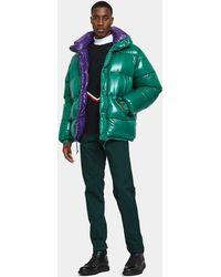 Moncler   Dejan Jacket In Green   Lyst