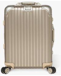 Rimowa - Topas Titanium Cabin Multiwheel Iata 34.0l - Lyst