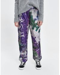 Stussy - Curtis Tie Dye Quilted Pant - Lyst