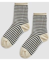 Hansel From Basel - Nautical Stripe Crew Sock - Lyst