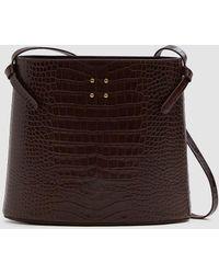 Trademark - Sybil Faux Croc Bag - Lyst