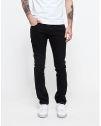 Han Kjobenhavn - Lean Fit Jeans Black Black - Lyst