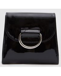 Little Liffner - Tiny Box Bag In Black Patent - Lyst
