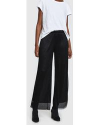 Just Female - Shimmer Quint Pants In Black - Lyst