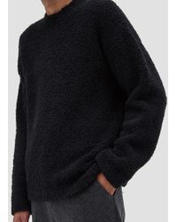 Our Legacy - Popover Roundneck Lamb's Fleece Charcoal - Lyst