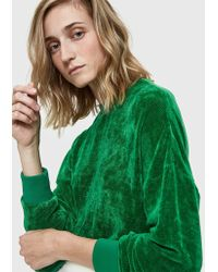 Tibi - Chenille Easy Sweatshirt - Lyst