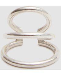 Saskia Diez - Wire Bold Earcuff Triple - Lyst