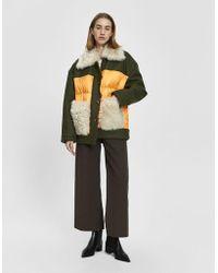 Marni - Felted Puffer Jacket - Lyst