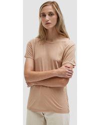 Baserange - Tee Shirt In Nude - Lyst