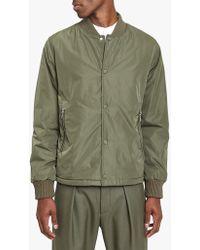 Officine Generale - Stan Jacket Italian Padded Water Resistant Nylon - Lyst