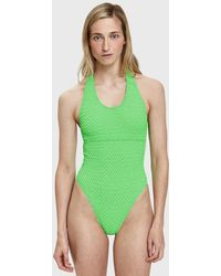 ACK - Ana Uno Puckered Swimsuit - Lyst