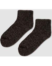 Baserange - Silk Buckle Ankle Socks - Lyst