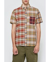 Beams Plus - Mad Crazy Short Sleeve Shirt - Lyst