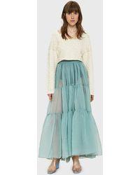 Rachel Comey - Glean Organza Skirt - Lyst