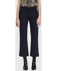 Rodebjer - Gaia Cropped Trouser - Lyst