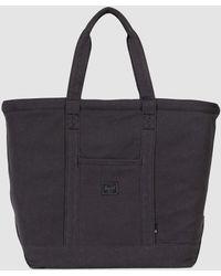 Herschel Supply Co. - Bamfield Cotton Canvas Tote Bag In Canvas Black - Lyst