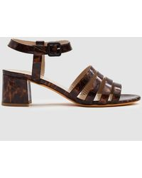 Maryam Nassir Zadeh - Palma Low Patent Sandal - Lyst