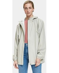 Rains - Base Jacket In Moon - Lyst