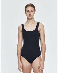 NU SWIM - Jaim Ribbed One-piece Swimsuit - Lyst