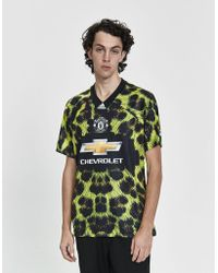 adidas - S/s Manchester United Fc Ea Soccer Jersey - Lyst