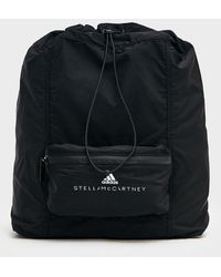 adidas By Stella McCartney Drawstring Gymsack Backpack - Black