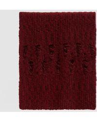 Rachel Comey - Pyramid Oversized Knit Scarf - Lyst