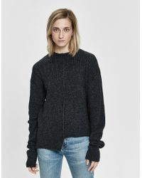 INEXCLSV - Romi Ribbed Sweater - Lyst