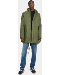 Native Youth - Pelsall Twill Parka - Lyst